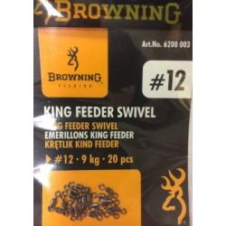 Browning King Feeder Micro Swivels