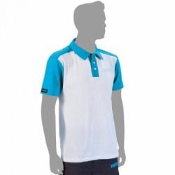 Rive Anti-UV White Polo Shirt