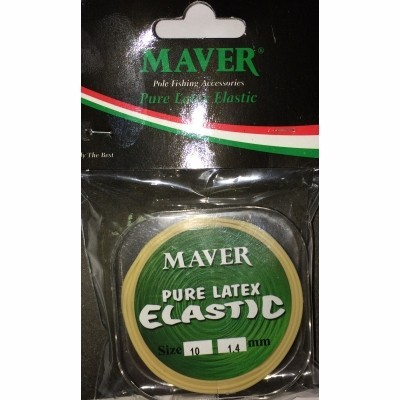 Maver Original Pure Latex Elastic (5m spool)