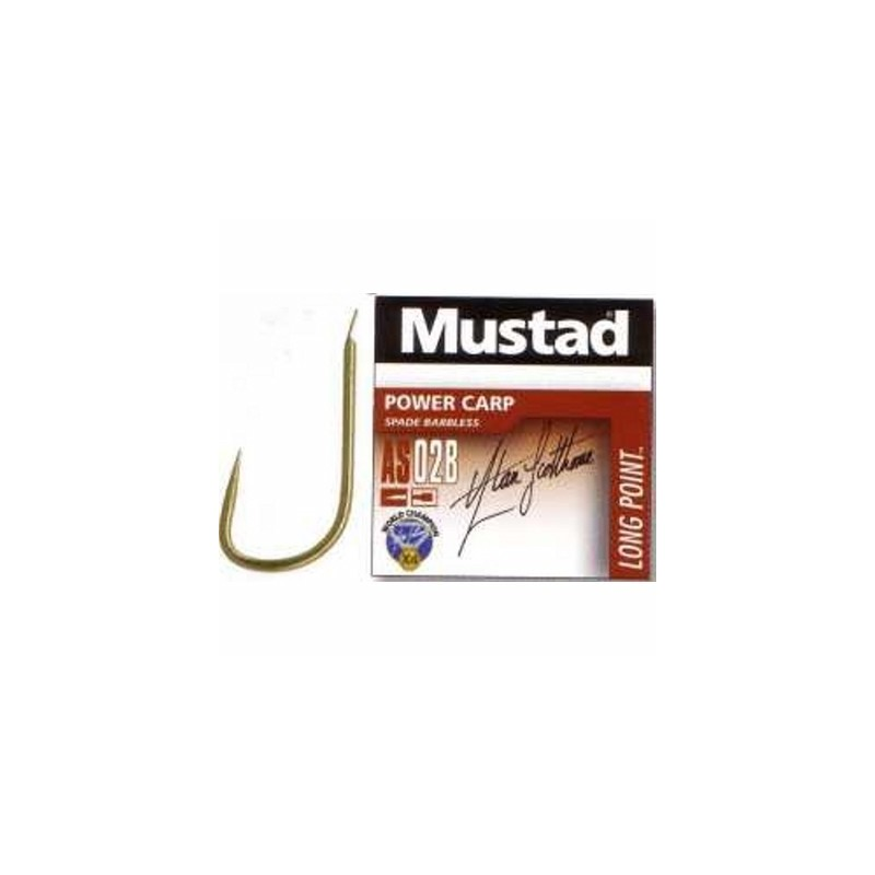 Mustad Power Carp Barbless AS02B
