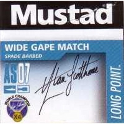Mustad Wide Gape Match AS07