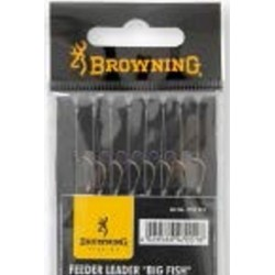 Browning Feeder Hooks To Nylon 'Big Fish' 100cm