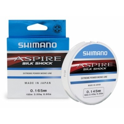 Shimano Aspire Silk Shock Line (Blue Box 50m)
