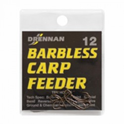 Drennan Barbless Carp Feeder Hook