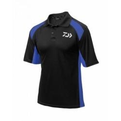 Daiwa Polo Shirt Black & Blue (2018)