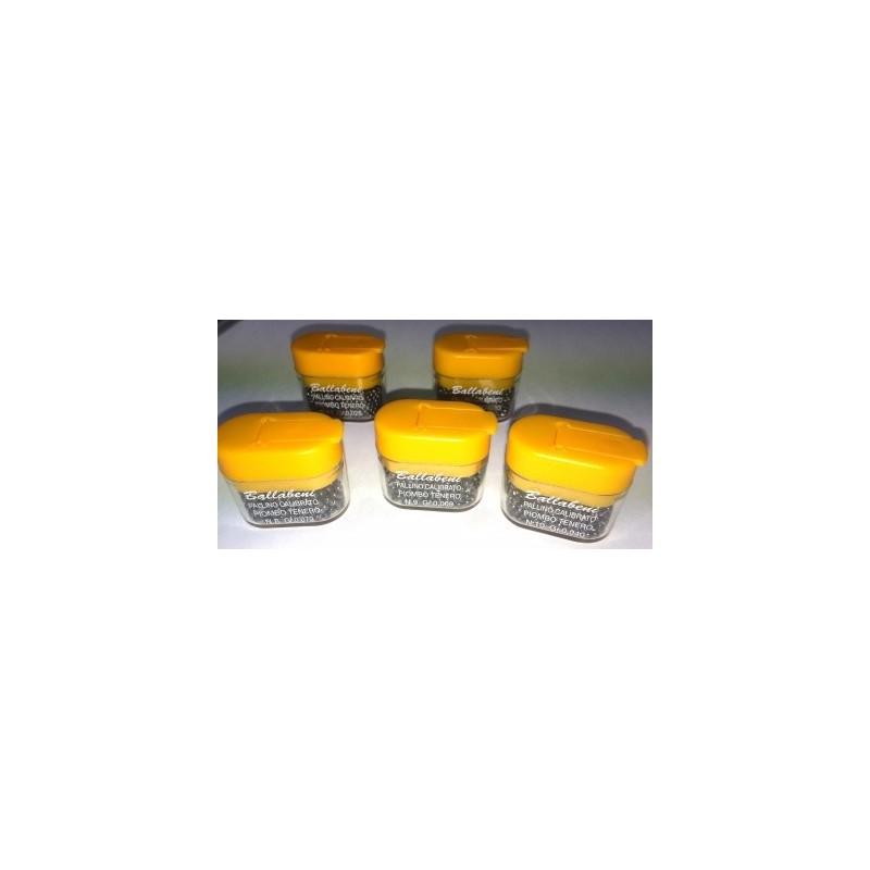 Ballabeni Lead Shot 30gr Tub (Orange Lid)