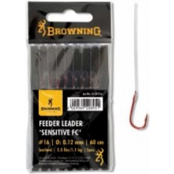 Browning Feeder Hooks To Nylon 'Sensitive' Fluorocarbon