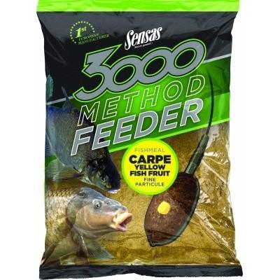 Sensas 3000 Yellow Method Feeder Groundbait