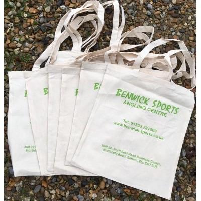 Benwick Sports Cotton Shopper Bag