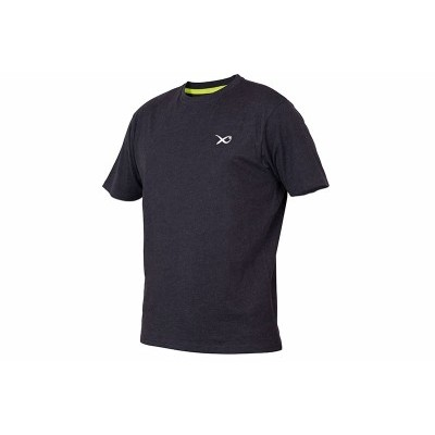 Matrix Minimal Black Marl T-Shirt