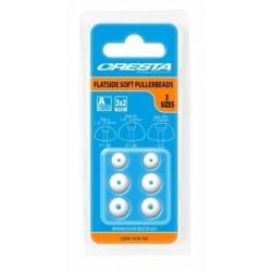 Cresta Flatside Soft Puller Beads