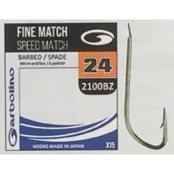 Garbolino Fine Speed Match 2100BZ Hook