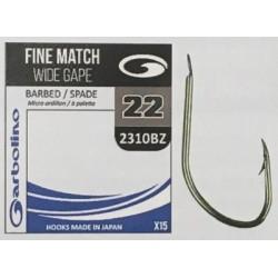 Garbolino Fine Match Wide Gape 42310BZ Hook