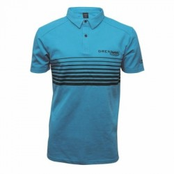 Drennan Aqua Polo (Stripes)