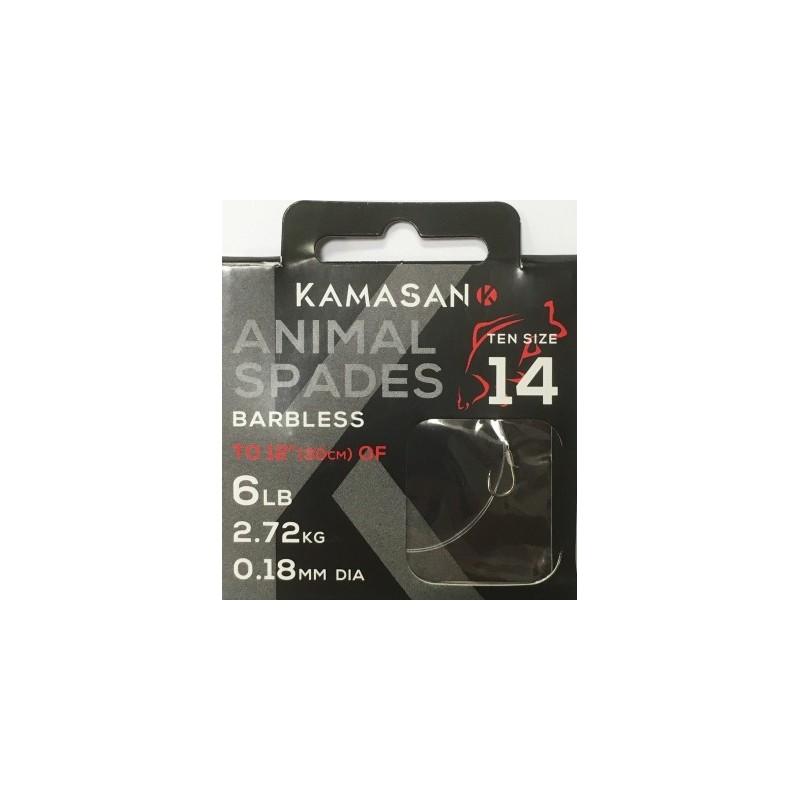 Kamasan Animal Spade Barbless Tied (New)