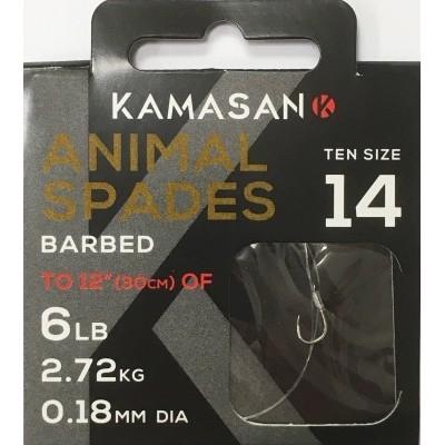 Kamasan Animal Spade Barbed Tied (New)