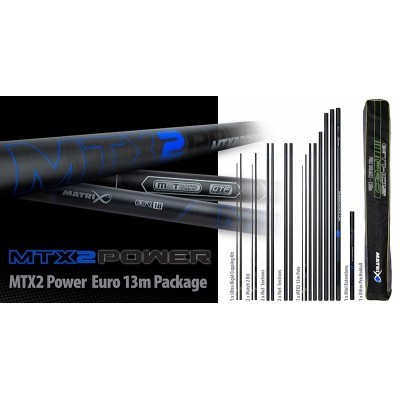 Matrix MTX2 Power 13m Euro Pole Package