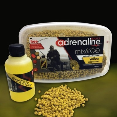 Middy Adrenaline Method Mix & Go Pellets.