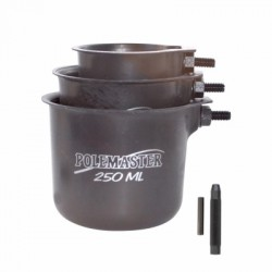 Drennan Pole Pots (Set of 3) Black