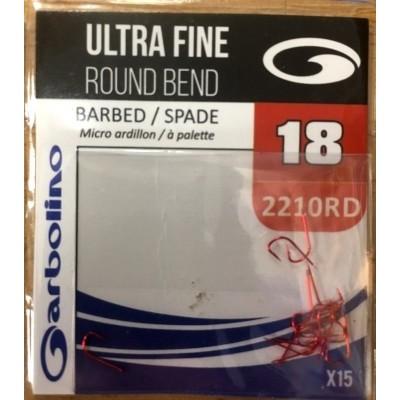 Garbolino Ultra Fine Round Bend Red Hook (2210RD)