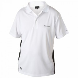Daiwa Polo Shirt White (DWPS)