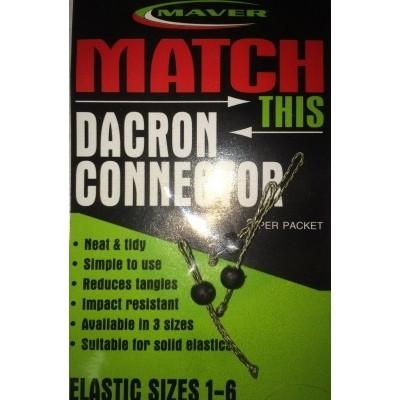 Maver Dacron Connectors (Old Type)