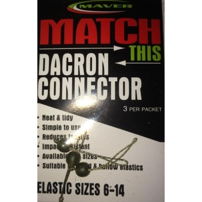 Maver Dacron Connectors (Old Type)