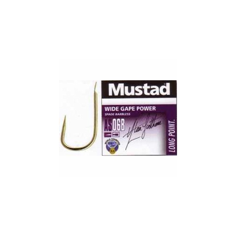 Mustad Wide Gape Power Hook AS06B