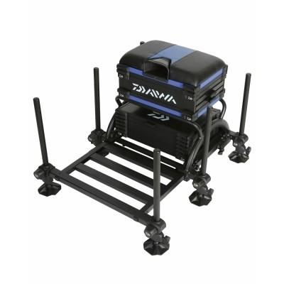 Daiwa Tournament 500 Seat Box Blue/Black