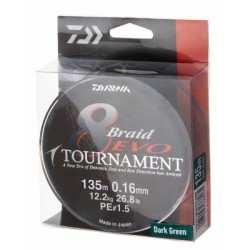 Daiwa Tournament 8 Braid Evo Dark Green