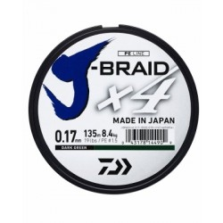 Daiwa J Braid x4 Dark Green